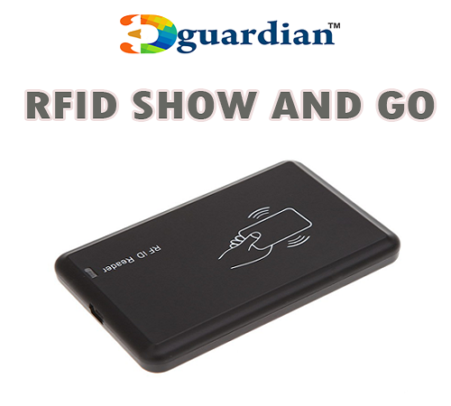 rfid gprs show and go device